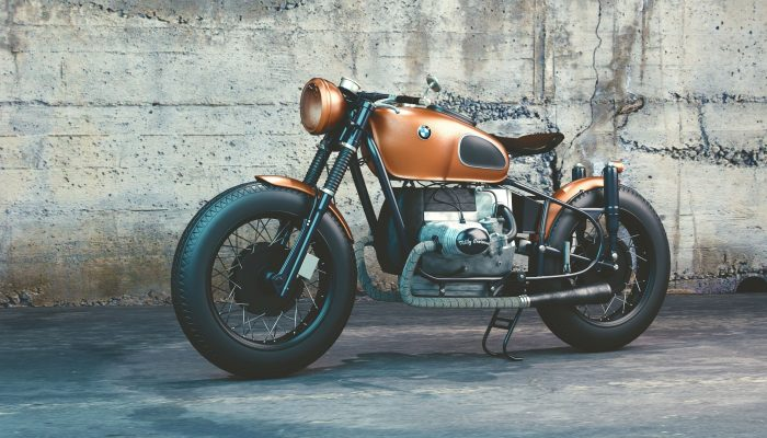 Mode Vintage : une moto vintage