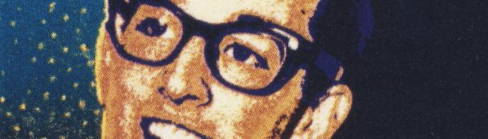 Timbre postal US à l'effigie de Buddy Holly
