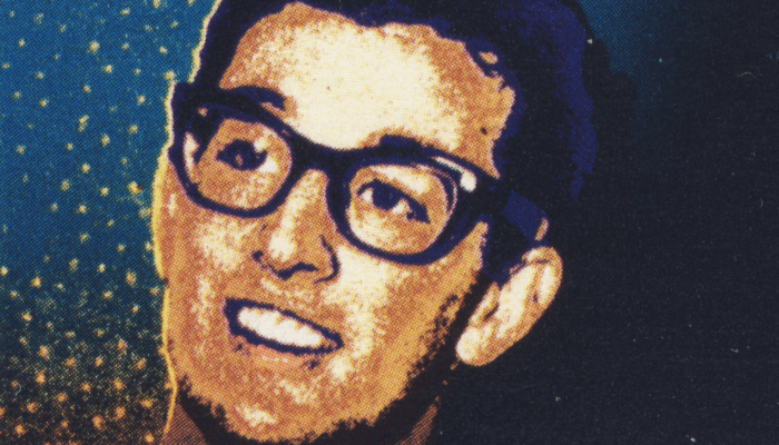 Timbre postal US à l'effigie de Buddy Holly